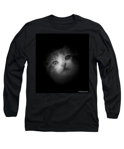 Long Sleeve T-Shirt featuring the photograph Curiosity by Betty Northcutt