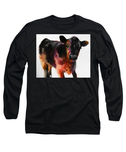 Buster The Calf Painting Long Sleeve T-Shirt