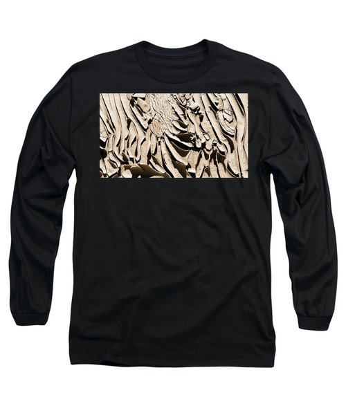 Curled Up Long Sleeve T-Shirt