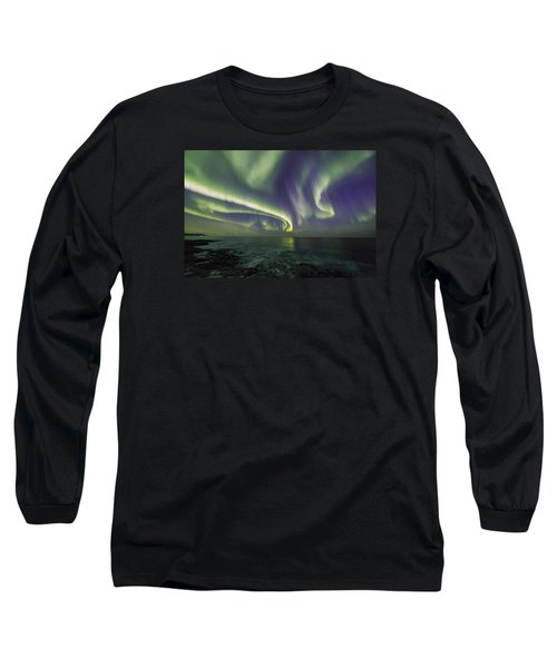 Curvy Auroras Long Sleeve T-Shirt
