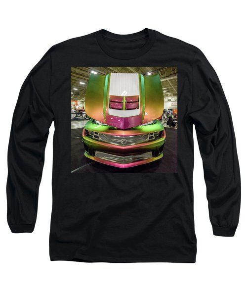 Long Sleeve T-Shirt featuring the photograph Custom Camaro by Randy Scherkenbach