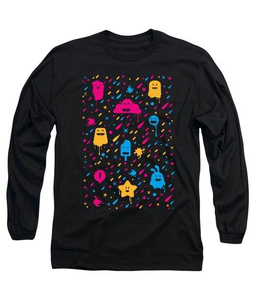 Cute Color Stuff Long Sleeve T-Shirt
