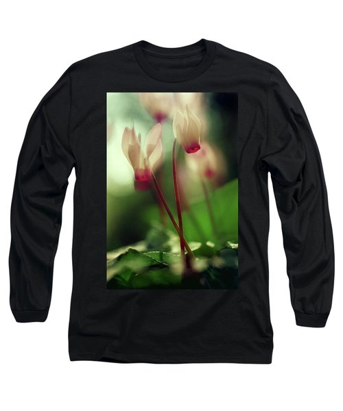 Cyclamens Long Sleeve T-Shirt