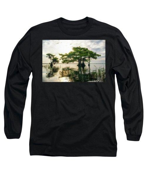 Cypress Bonsai Long Sleeve T-Shirt