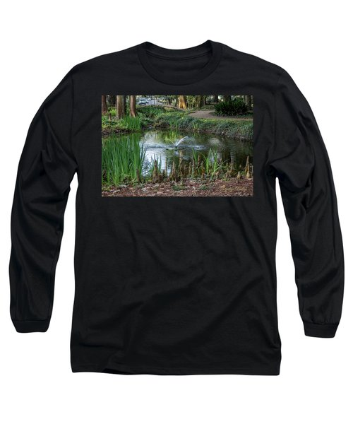Cypress Knees 02 Long Sleeve T-Shirt by Gregory Daley  PPSA