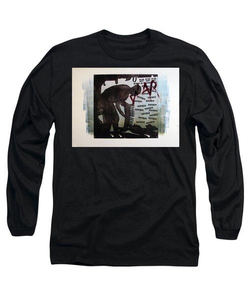 D U Rounds Project, Print 2 Long Sleeve T-Shirt