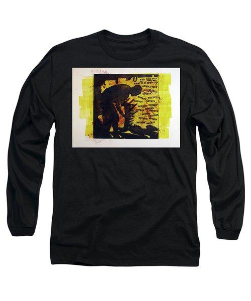 D U Rounds Project, Print 3 Long Sleeve T-Shirt
