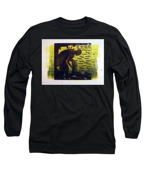 D U Rounds Project, Print 16 Long Sleeve T-Shirt
