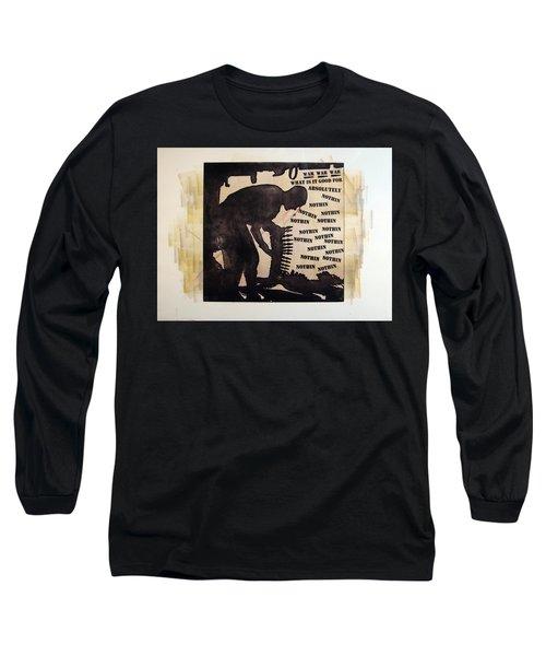 D U Rounds Project, Print 17 Long Sleeve T-Shirt