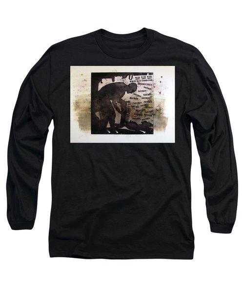 D U Rounds Project, Print 19 Long Sleeve T-Shirt
