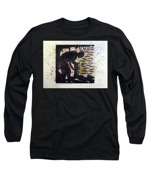 D U Rounds Project, Print 35 Long Sleeve T-Shirt