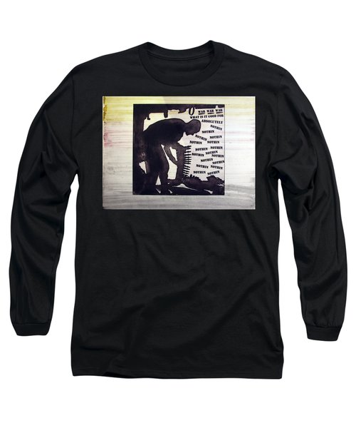 D U Rounds Project, Print 44 Long Sleeve T-Shirt