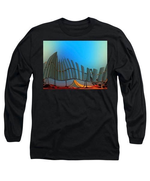 Da Vinci's Outpost Long Sleeve T-Shirt