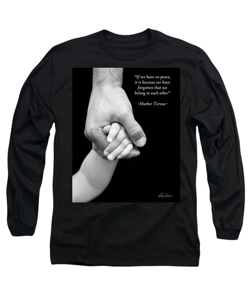 Daddy's Hand Long Sleeve T-Shirt