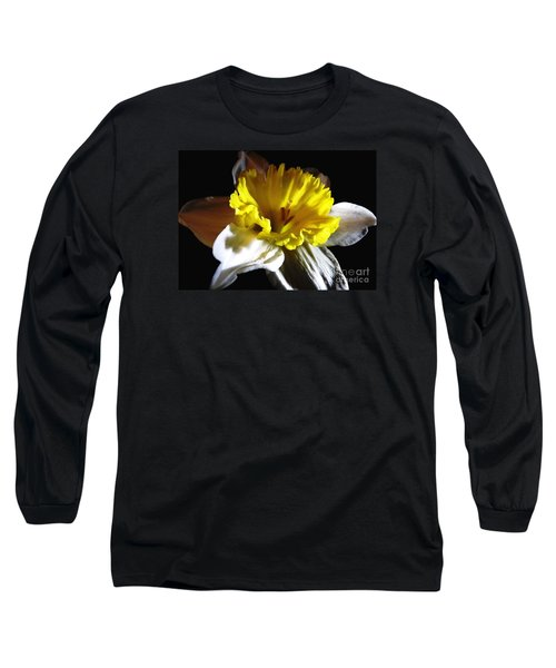 Long Sleeve T-Shirt featuring the photograph Daffodil 2 by Rose Santuci-Sofranko