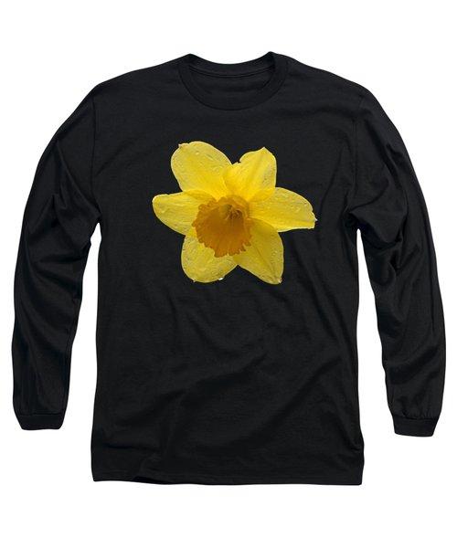 Daffodil Long Sleeve T-Shirt by  Newwwman