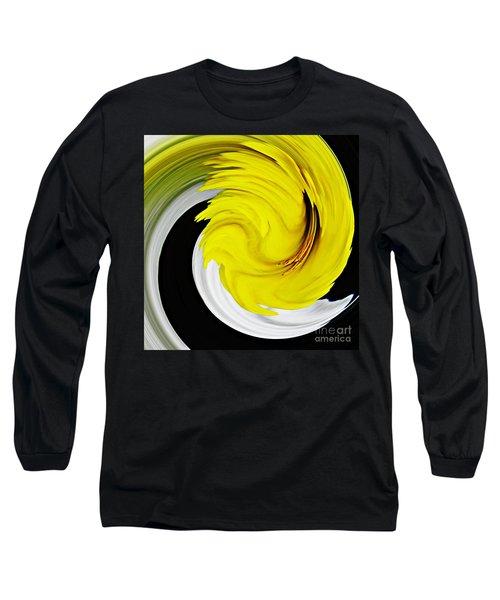 Daffodil Twist Long Sleeve T-Shirt by Sarah Loft