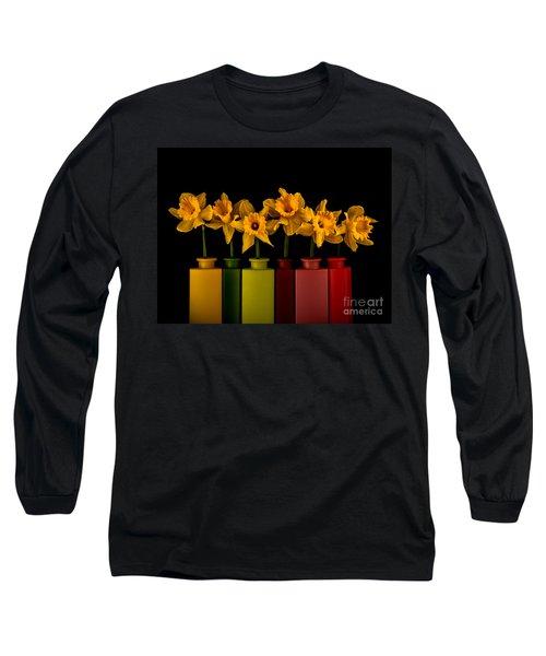 Daffodils 07-1 Long Sleeve T-Shirt