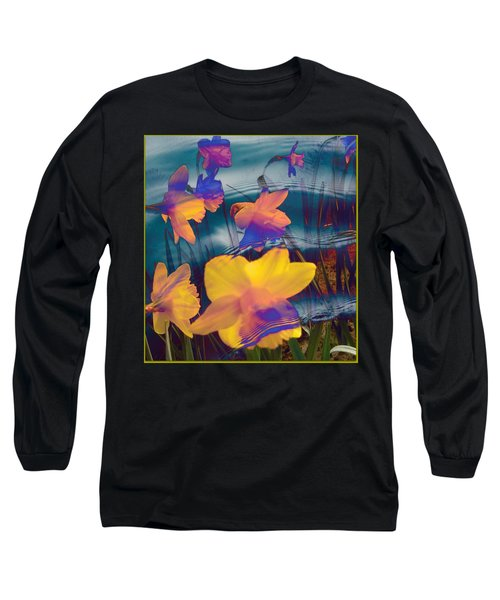 Daffodils #1 Long Sleeve T-Shirt