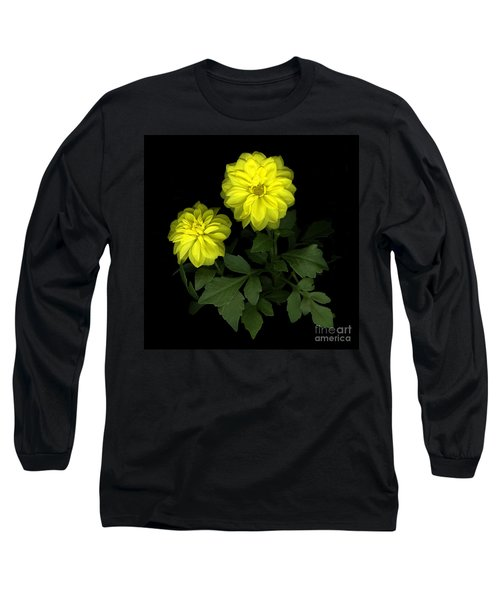Dahlia Long Sleeve T-Shirt by Christian Slanec