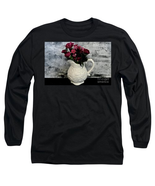 Long Sleeve T-Shirt featuring the photograph Dainty Flowers by Marsha Heiken