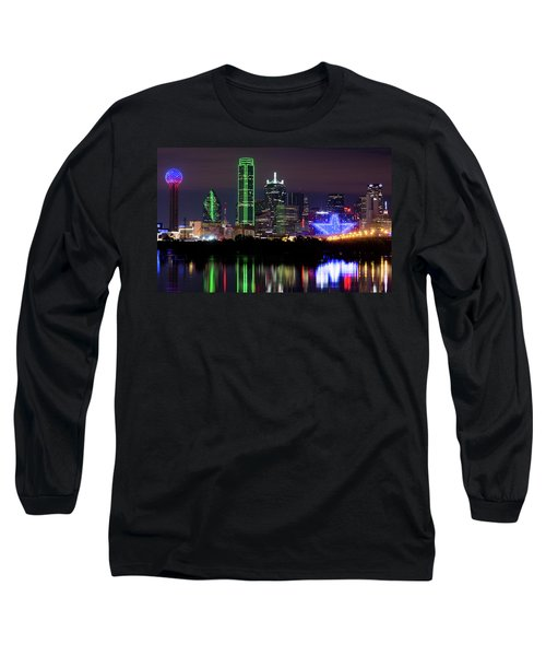 Dallas Cowboys Star Night Long Sleeve T-Shirt