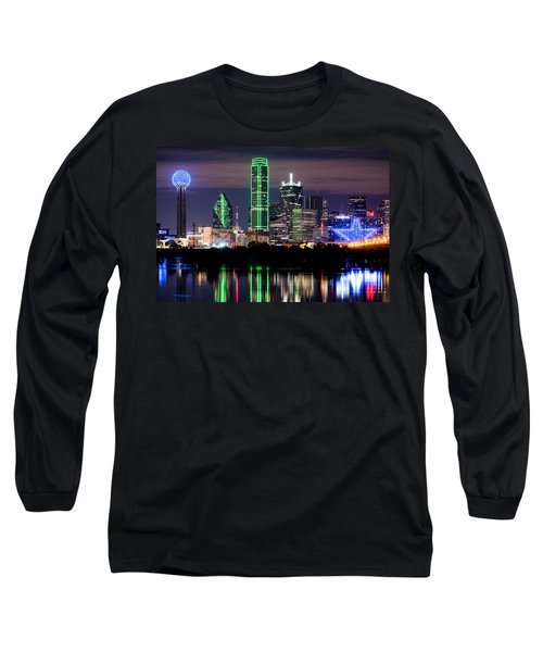 Dallas Cowboys Star Skyline Long Sleeve T-Shirt
