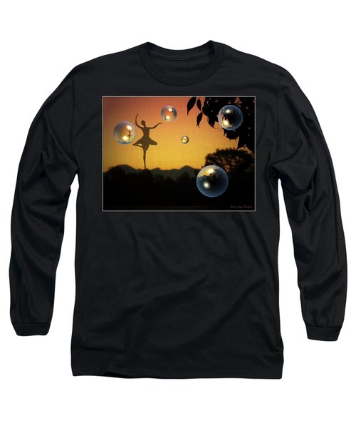 Long Sleeve T-Shirt featuring the photograph Dance Of A New Day by Joyce Dickens