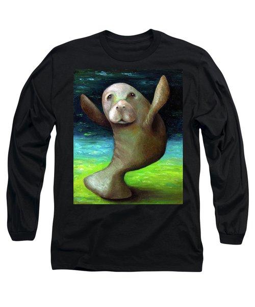 Dance Of The Manatee Long Sleeve T-Shirt