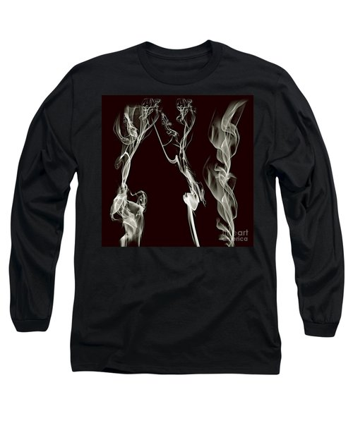 Dancing Apparitions Long Sleeve T-Shirt by Clayton Bruster