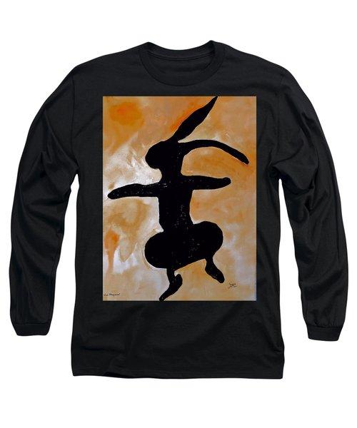Dancing Bunny Long Sleeve T-Shirt