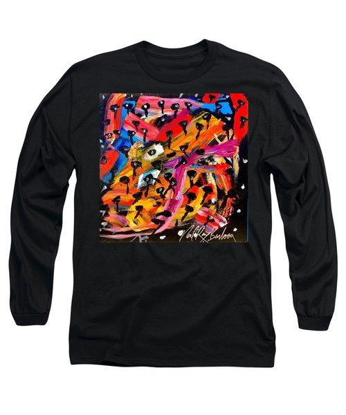 Dancing Car Keys Long Sleeve T-Shirt