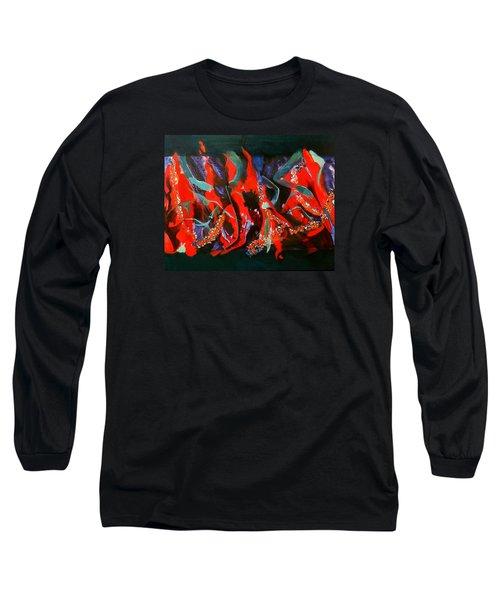 Dancing Flames Long Sleeve T-Shirt