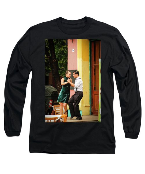 Dancing Tango Long Sleeve T-Shirt