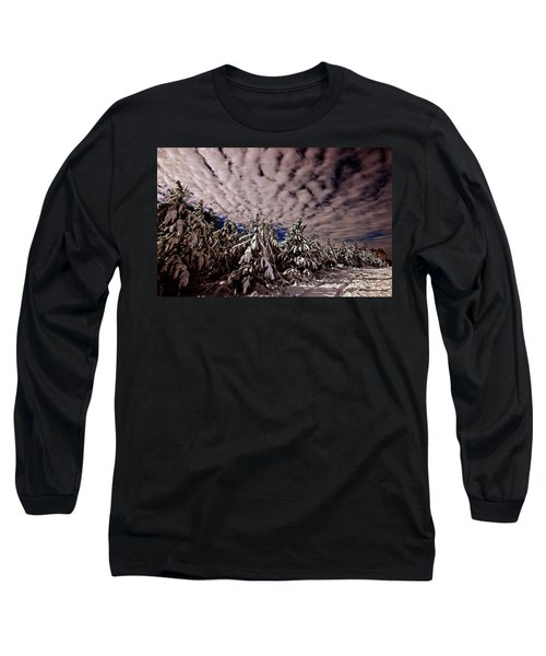 Dancing Trees  Long Sleeve T-Shirt by John Harding