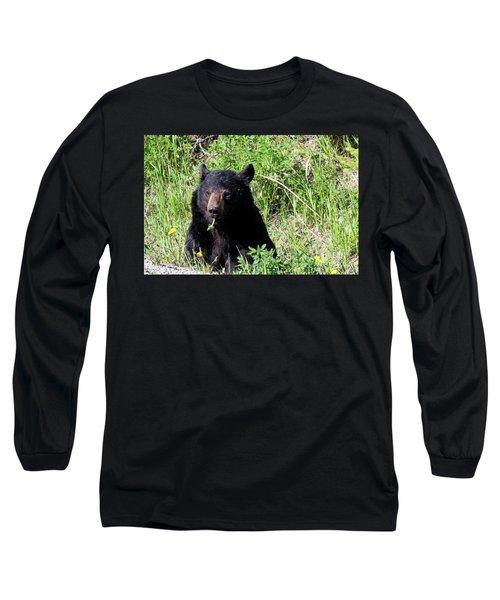 Dandelion Bear Long Sleeve T-Shirt