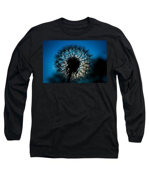 Dandelion Dream Long Sleeve T-Shirt by Jason Moynihan