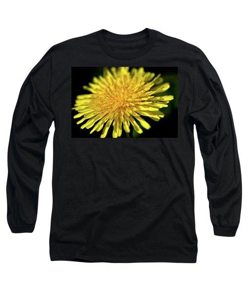 Dandelion Flower Long Sleeve T-Shirt
