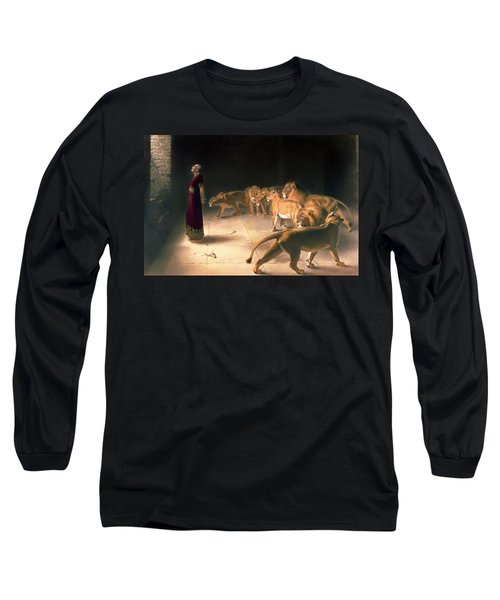Daniel's Answer To The King Long Sleeve T-Shirt by Mountain Dreams