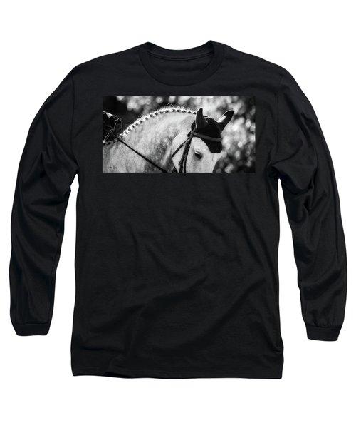 Dapper Long Sleeve T-Shirt by Joan Davis