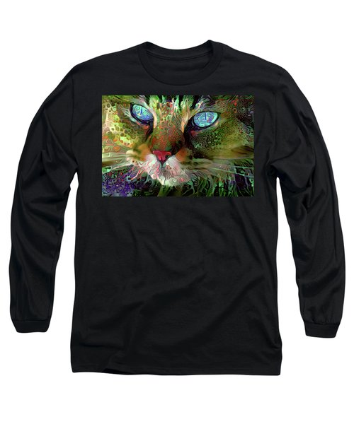 Darby The Long Haired Cat Long Sleeve T-Shirt