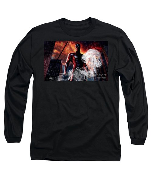 Daredevil Collection Long Sleeve T-Shirt by Marvin Blaine