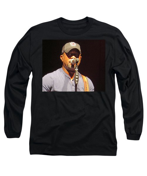 Darius Rucker Live Long Sleeve T-Shirt