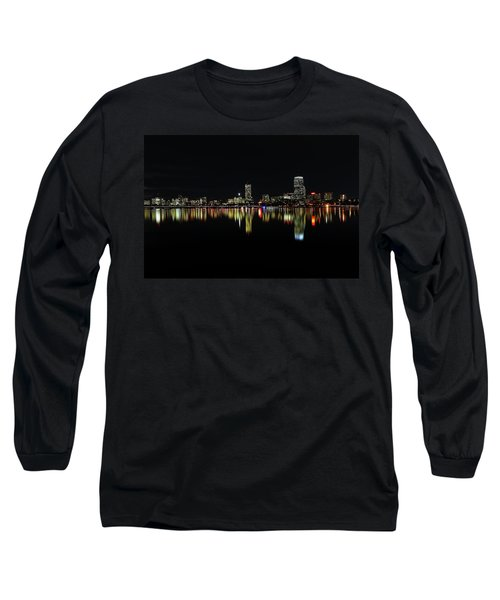 Long Sleeve T-Shirt featuring the photograph Dark As Night by Juergen Roth