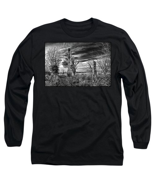 Long Sleeve T-Shirt featuring the photograph Dark Days by Brian Wallace