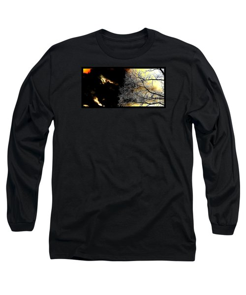Dark Meets Light Long Sleeve T-Shirt by Susanne Still