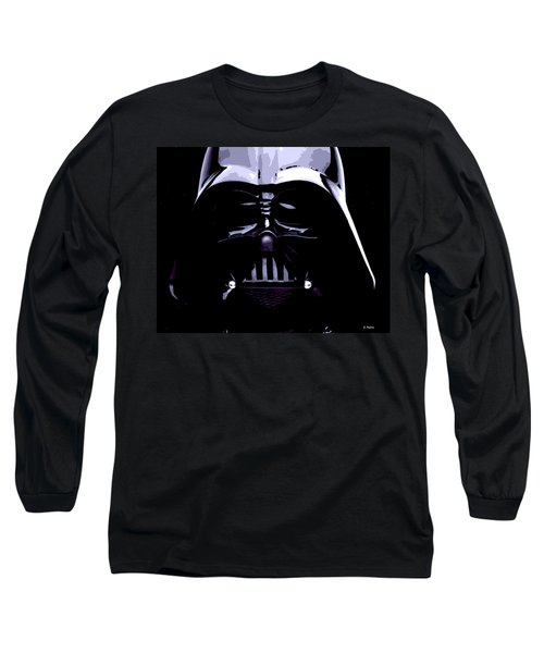 Dark Side Long Sleeve T-Shirt by George Pedro