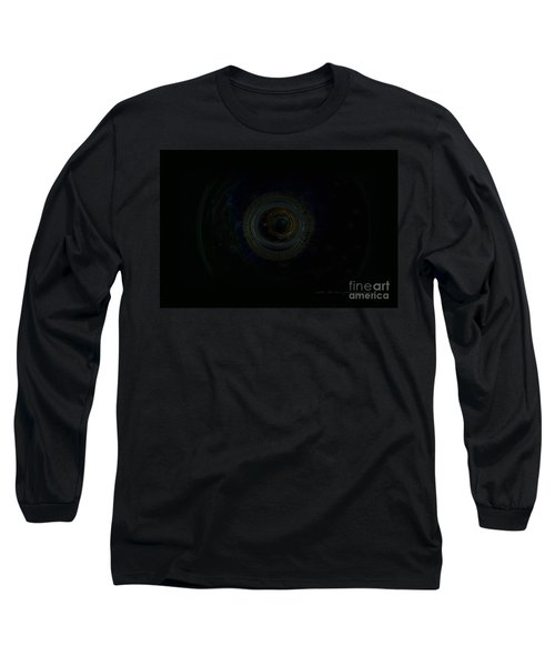 Long Sleeve T-Shirt featuring the digital art Dark Spaces by Vicki Ferrari