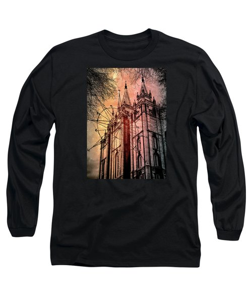 Dark Temple Long Sleeve T-Shirt
