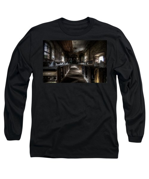 Dark Thoughts Long Sleeve T-Shirt by Nathan Wright
